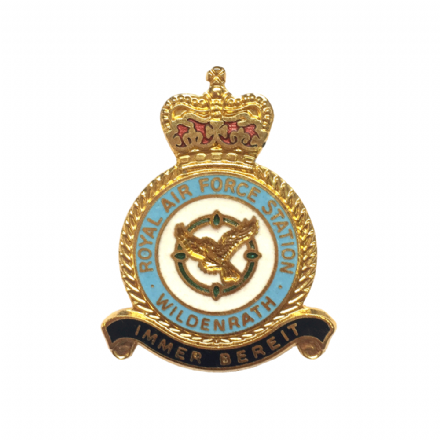 Royal Air Force RAF Station Wildenrath Lapel Badge
